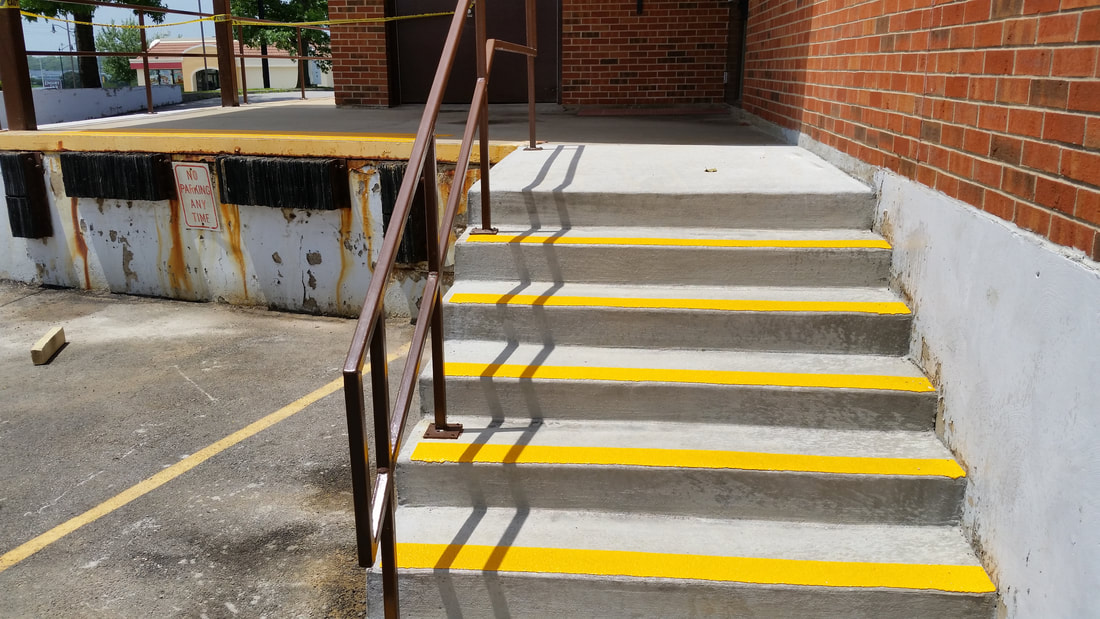 Skid Resistant Stair Strips By Lucian Tandara (LT)