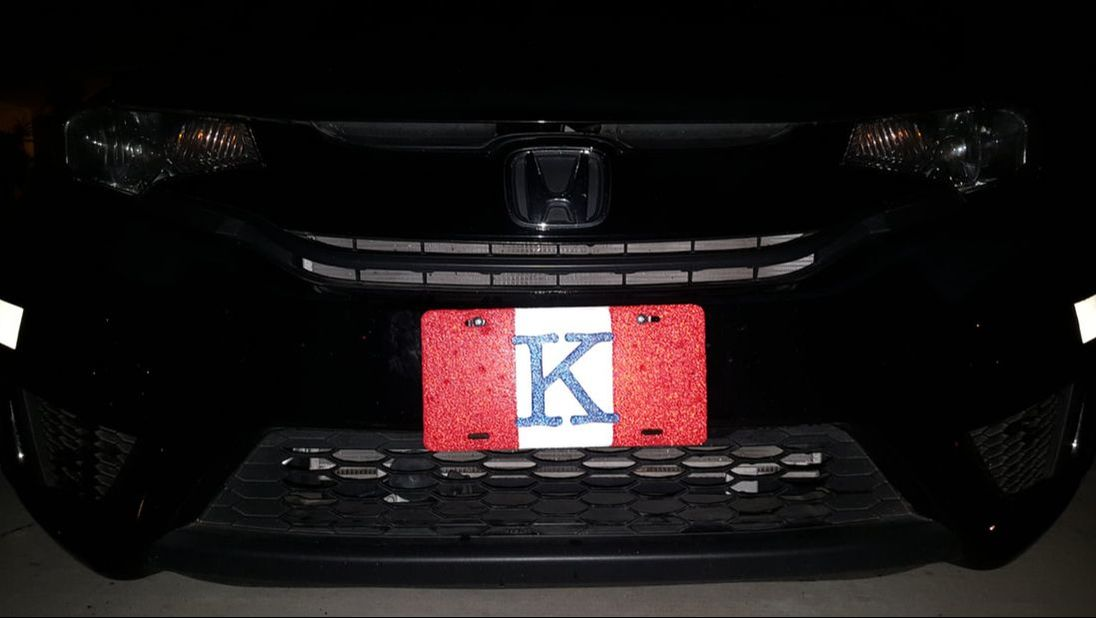 Reflective License Plates by Lucian Tandara (LT)